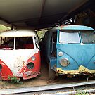Kombi Pair in Shed by Bami
