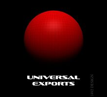 Universal exports iphone cover by ANDIBLAIR