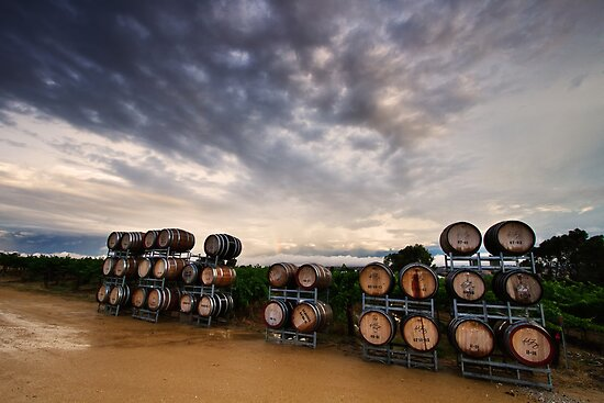 Barossa Barrels by KathyT