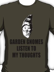 Garden Gnomes (black) T-Shirt