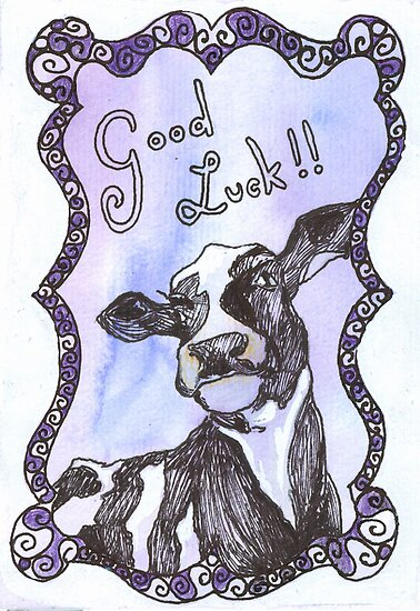Cow - Good luck by Sanne Thijs