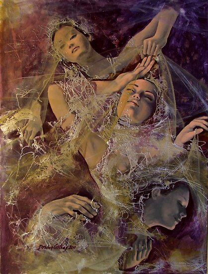 Chrysalids by dorina costras
