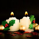 Christmas Candles by Anaa