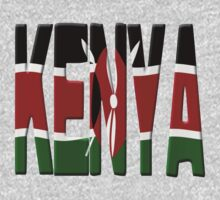 Kenya flag by stuwdamdorp