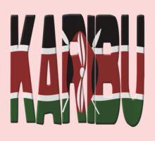 Karibu - Kenya flag by stuwdamdorp