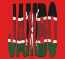 Jambo - Kenya flag by stuwdamdorp
