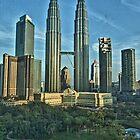 Petronas Towers by Asif Patel