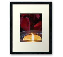 Christmas - Hanukkah - Kwanzaa - light in the world Framed Print