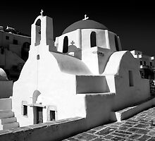 Greek Orthodox Churches of the Greek Cyclades Islands by Paul Williams