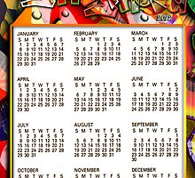 STAY STRONG CALENDAR by BOOKMAKER