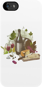 Wine and Cheese Plate by HighDesign