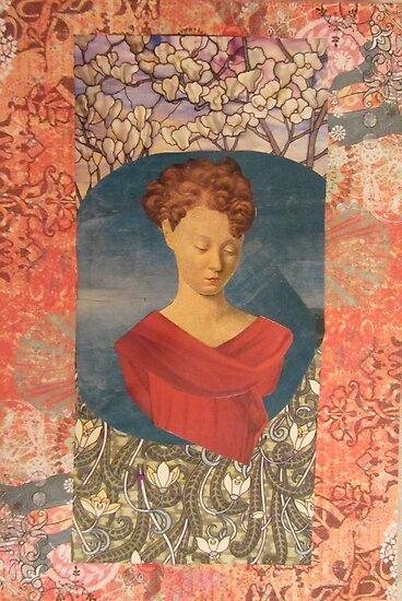 Madonna of the Blossoms by Kanchan Mahon
