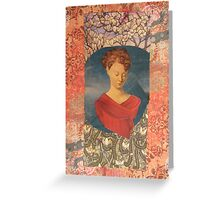 Madonna of the Blossoms Greeting Card