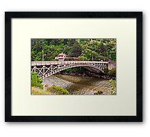 Kings Bridge, Launceston Framed Print