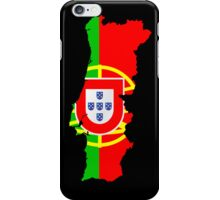Portugal Flag and Map iPhone Case/Skin
