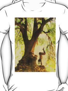 Handstand by the tree tshirt T-Shirt