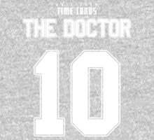 Team Tennant (The Doctor Team Jersey #10) Kids Clothes