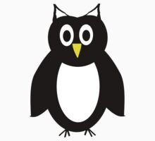Black And White Owl Design by biglnet