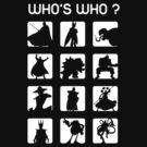 Who's who ? (bad guys edition) by Alondyte