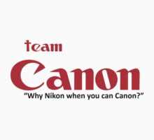 Team Canon! - why nikon when you can CANON. Kids Clothes