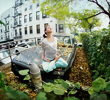 Full lotus, yoga in New York by Wari Om  Yoga Photography