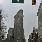 Flat Iron Building - NYC by Yannick Verkindere