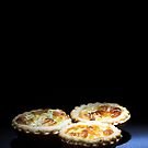 3 Quiche in the Spot LIght by Robert Worth