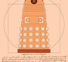 Vitruvian Dalek by StudioFibonacci
