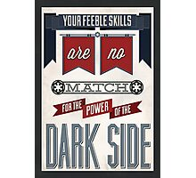 Star Wars Quote Poster Photographic Print
