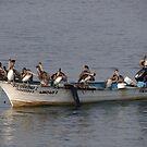 We Are Ready For Sea-Angling - Estamos Al Pie Del Cañón Para Pescar En El Mar Alta by Bernhard Matejka