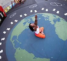World Peace, Yoga in Harlem, New York by Wari Om  Yoga Photography