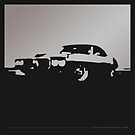 Pontiac Firebird, 1969 - Gray on black by uncannydrive