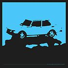 Saab 99 EMS,  1974 - Light blue on black by uncannydrive