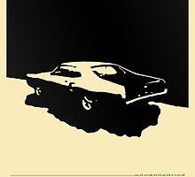 Mercury Marauder,  1969 - Black on light by uncannydrive
