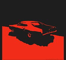Mercury Marauder,  1969 - Red on black by uncannydrive