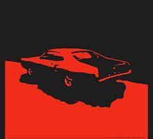 Mercury Marauder,  1969 - Red on black by uncannydrive