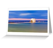 Pump House Newcastle Baths Greeting Card