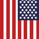 Patriotic USA Flag by ArtformDesigns
