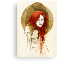 Ygritte Canvas Print