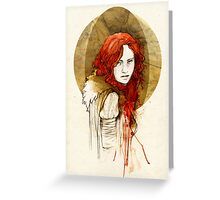 Ygritte Greeting Card