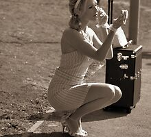 Vintage travel by sandymayasphoto
