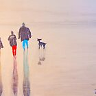 Winter Beach Walk by Richard Darcy