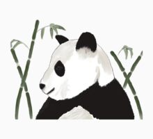 Watercolor Giant Panda by Sarah Countiss