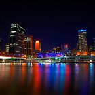 Brissy by Night by tracielouise