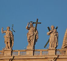 St Peters statues by Sam Tabone