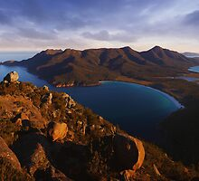 Light on Freycinet - East Coast Tasmania by Mark Shean