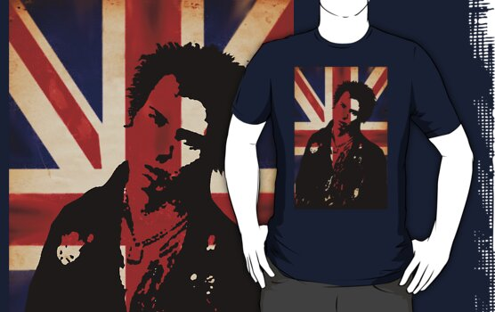 Sid Vicious union jack by Chris-Cox