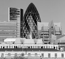 St Mary-Axe-London by Nick Milton