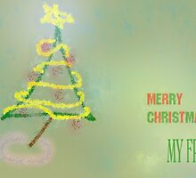 MERRY CHRISTMAS MY REDBUBBLE FRIENDS by Pixie-Atelier