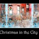 Christmas in the City Triptych by Mary Ann Reilly